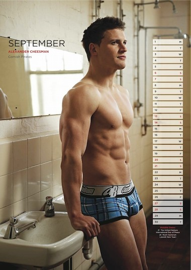 Your Hunk of the Day: Alexander Cheesman