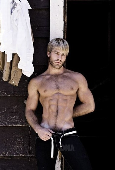 Your Hunk of the Day: Joseph Sayers